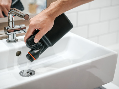 How to stay safe around chemical drain openers
