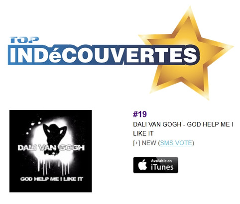 Dali Van Gogh Single Breaks Into Top 20 On European Charts