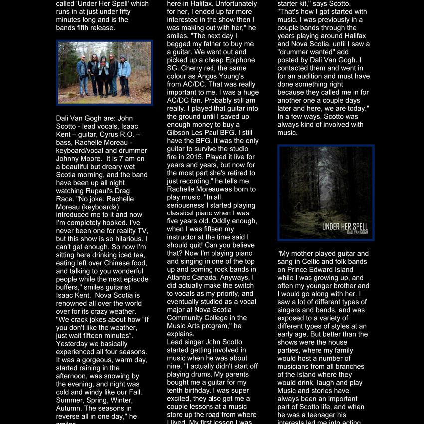 fireworks mag interview page 1