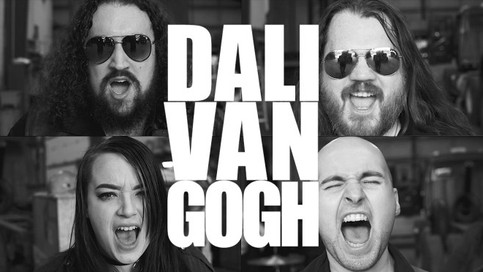 Music Video Review: Dali Van Gogh Get Out of Town on 'Down at the Hitching Line'