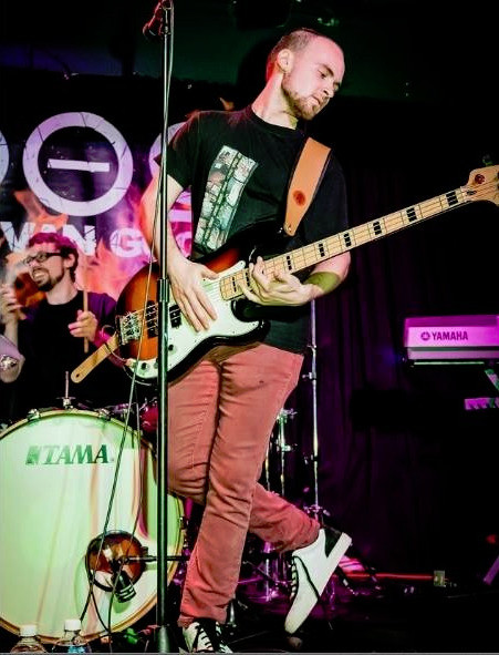 DVG Announced as Semi Finalists in Q104 Homegrown Contest, Bassist Featured in RockWired Mag
