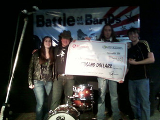 Dali Van Gogh Wins the 2011 Rogers Battle Of The Bands presented by Supernova.com