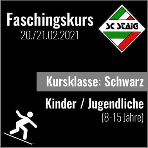 "KINDER/JUGEND SNOWBOARDKURS ""SCHWARZ"" (Faschingskurs)"
