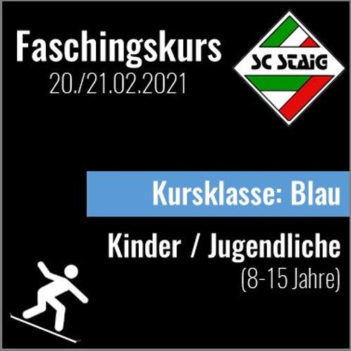 """KINDER/JUGEND SNOWBOARDKURS """"BLAU"""" (Faschingskurs)"""