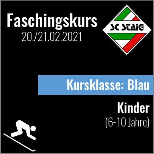 """KINDERSKIKURS """"BLAU"""" (Faschingskurs)"""