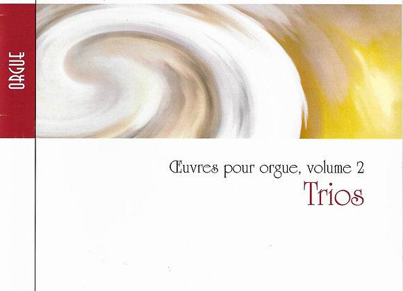 RINCK J.C.H., Trios -Oeuvres pour orgue - vol2