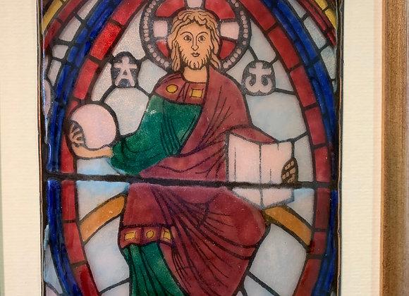 Coutance, Christ en Majesté