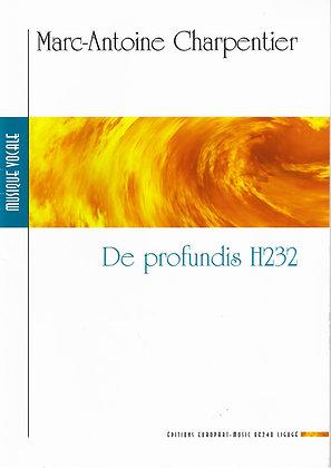 CHARPENTIER M.-A., De profundis H232