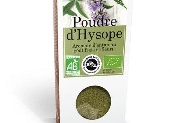 Poudre d'Hysope aromate d'antan