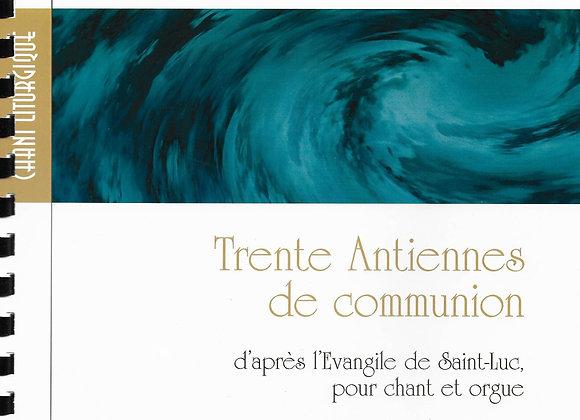 DOURY Pierre, Trente Antiennes de communion