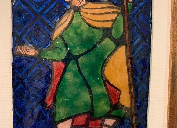 Saint Jacques pèlerin en couleur