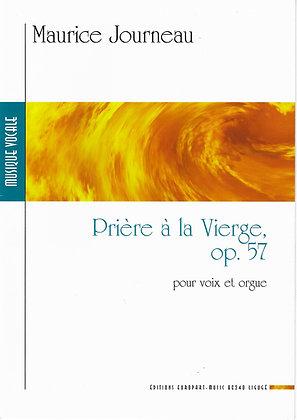 Maurice Journeau, Prière à la Vierge op 57