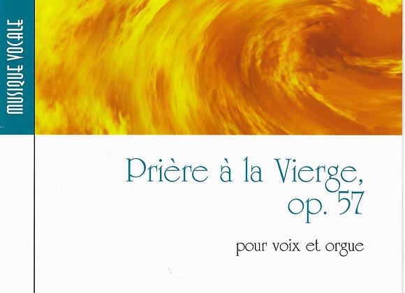 JOURNEAU Maurice, Prière à la Vierge op 57