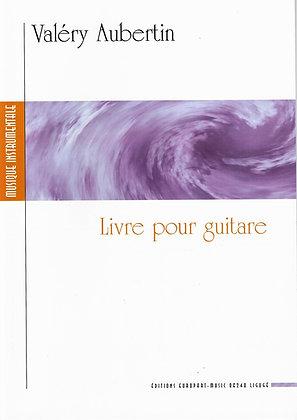 AUBERTIN Valéry, Livre pour guitare