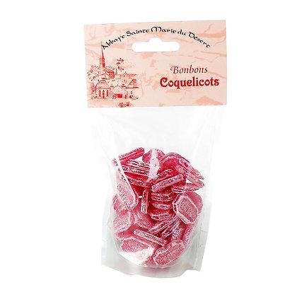 Bonbon coquelicots