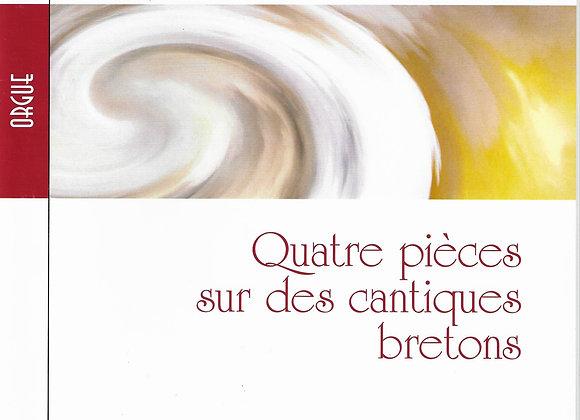PASQUET Jean-Dominique, Quatre pièces sur des cantiques bretons