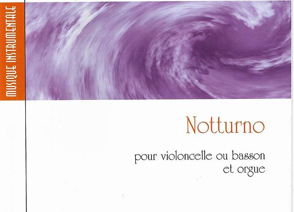 PASQUET Jean-Dominique, Notturno pour violoncelle ou basson et orgue