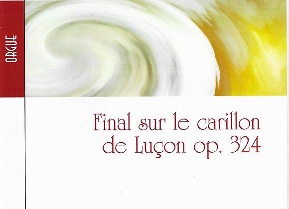 ALAIN Albert, Final sur le Carillon de Luçon, OP.324