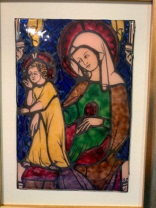 Konigsfelden, Vierge à l'enfant