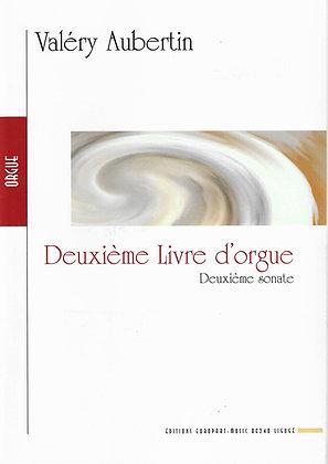 AUBERTIN Valéry, Deuxième livre d'orgue, Deuxième sonate