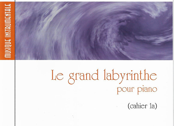 AUBERTIN Valéry, Le grand labyrinthe pour piano