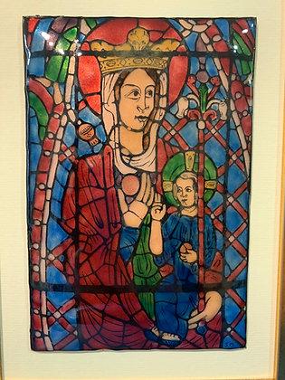 Vierge en Majesté, Bourges