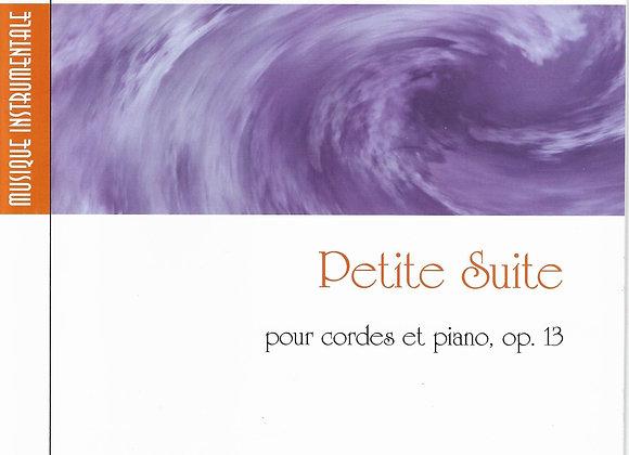 JOURNEAU Maurice, Petite suite pour cordes et piano op 13