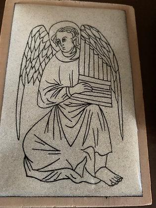 Ange à l'orgue