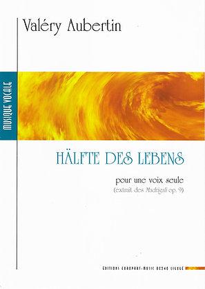 AUBERTIN Valéry, Hälfte des Lebens