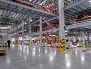 WiFi Network Solutions for Warehouses and Distribution Centers.