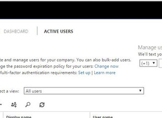 Microsoft Office 365 - Multi Factor Authentication.