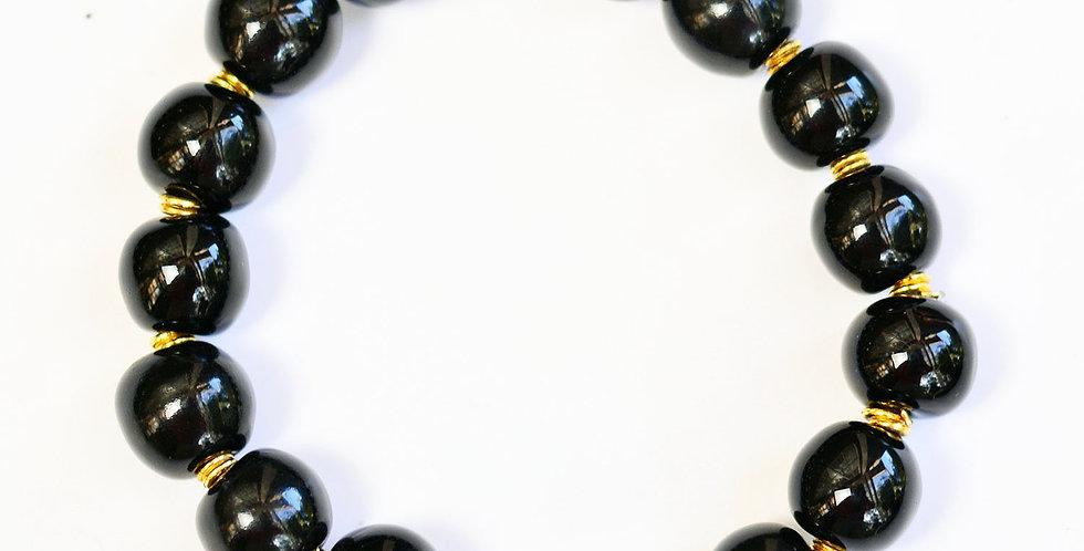 Rounds Black Elastic
