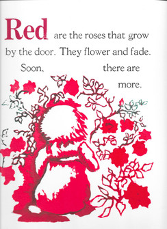 Red are the roses