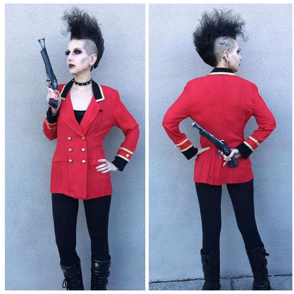 Red Pirate Coat