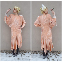 Formal Peach Roaring 20s