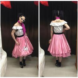 Pink 50's Dress