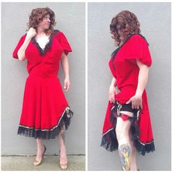 Mens Red Dress