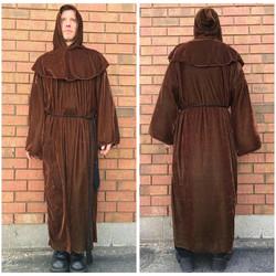 Brown Velvet Robe