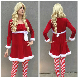 Short Velvet Mrs. Claus