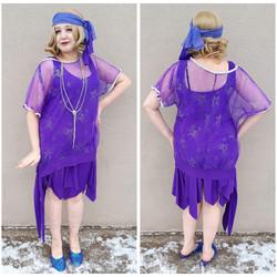 Purple Star Flapper