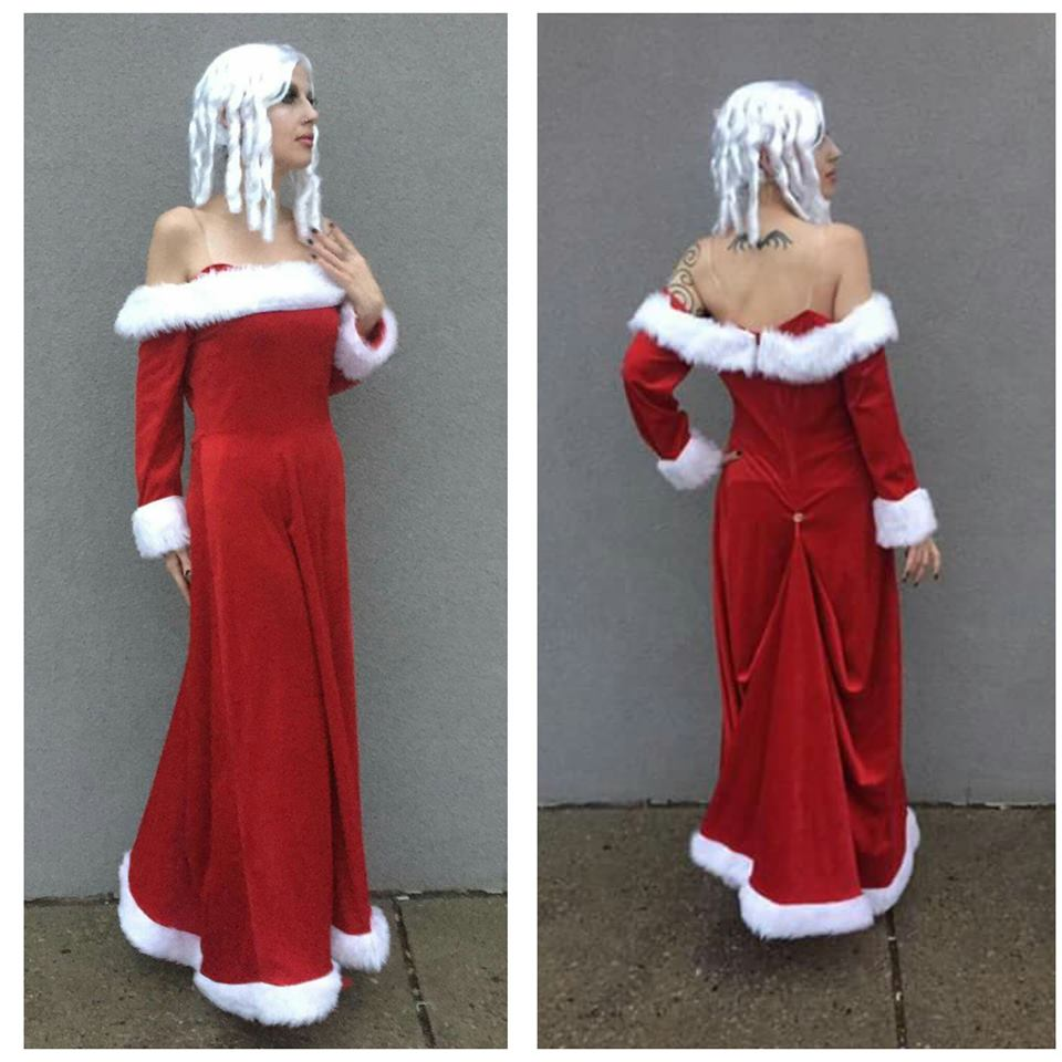 Mrs. Claus Gown