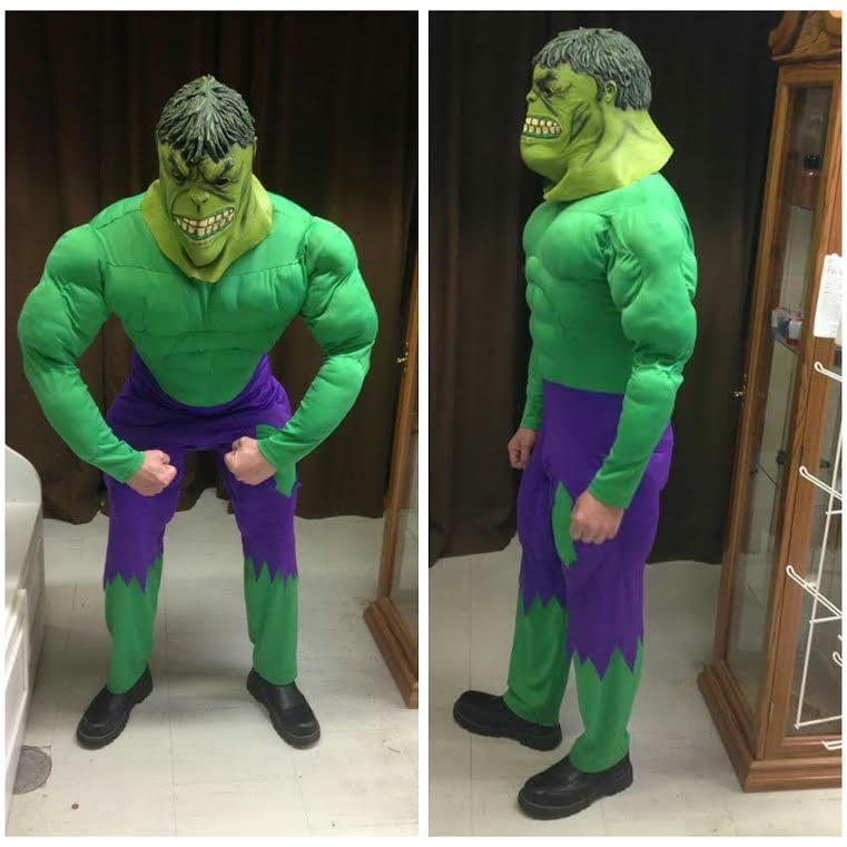 Muscle Chest Hulk