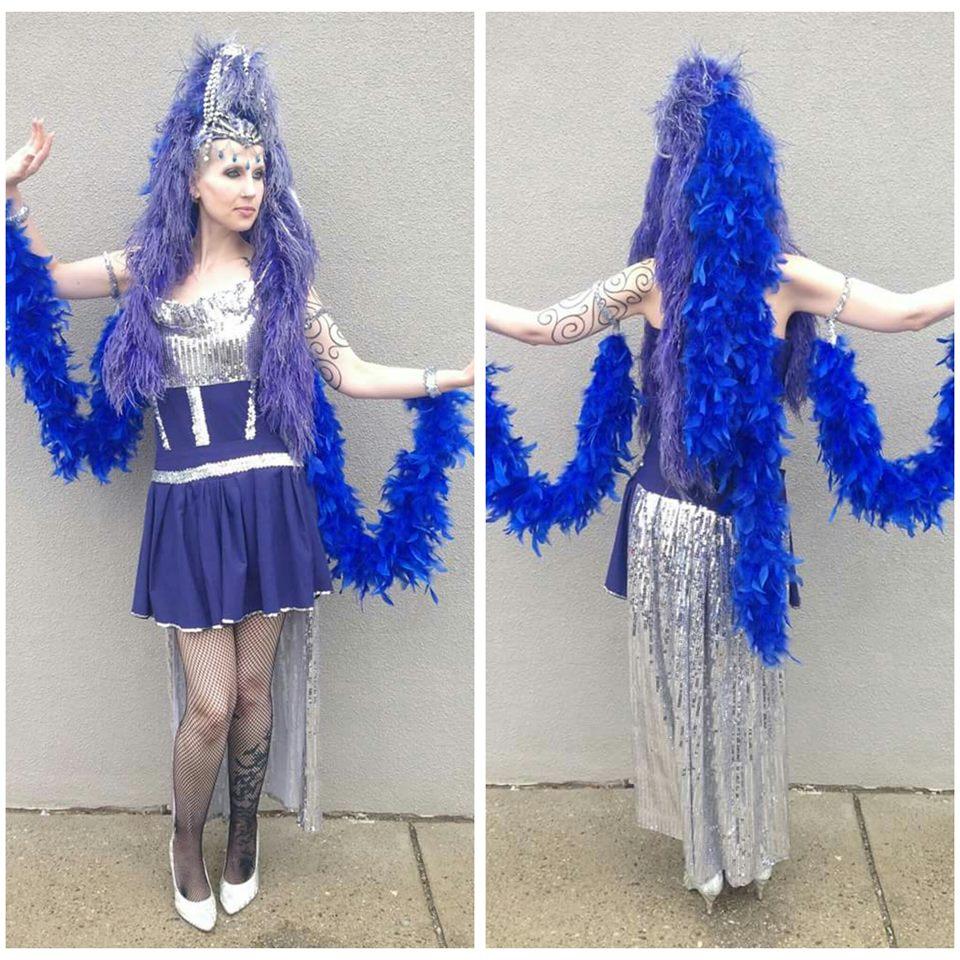 Blue Showgirl
