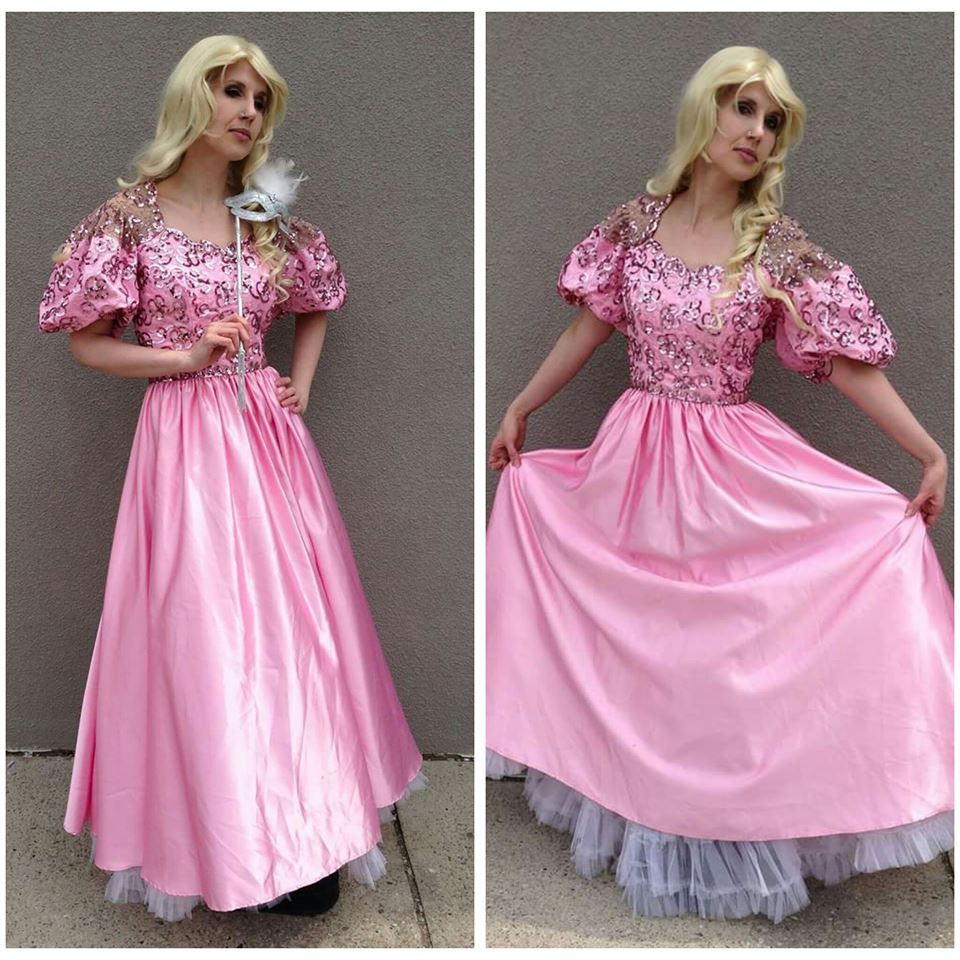 Pink Sequin Princess