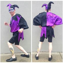 Purple & Black Jester