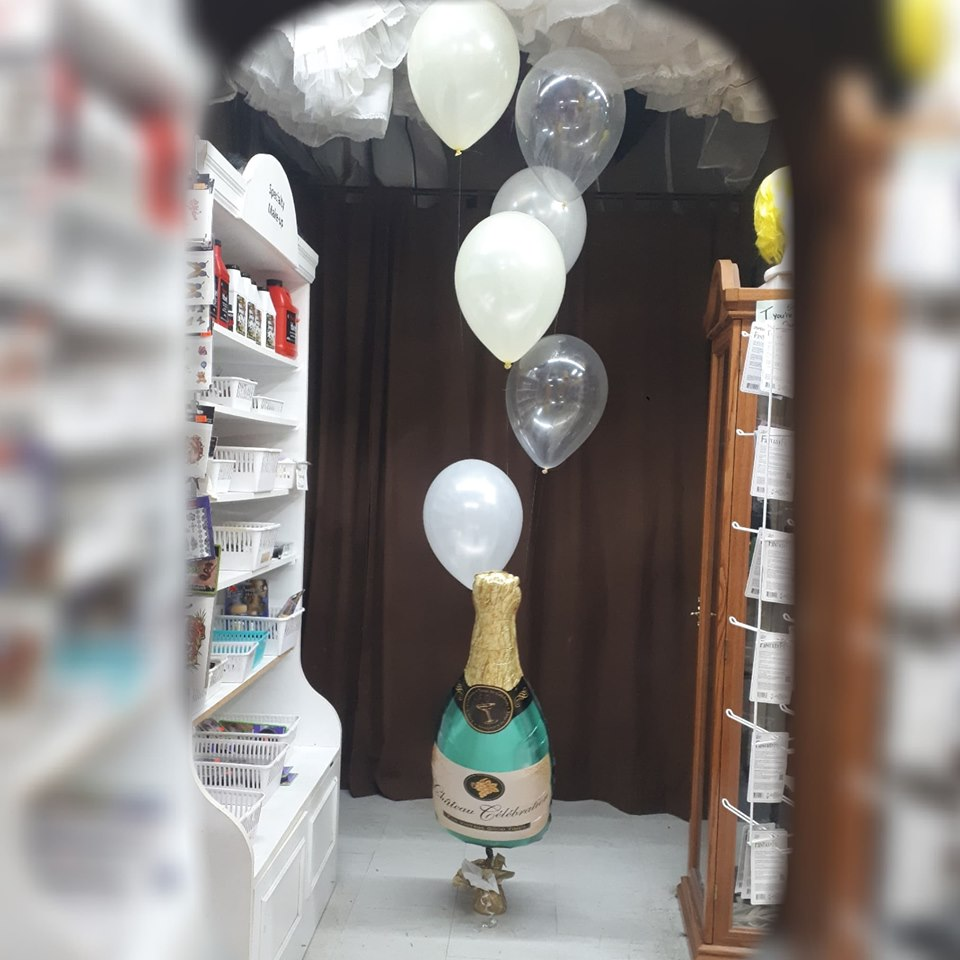 Champagne Balloons