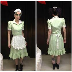 Green 50's Waitress