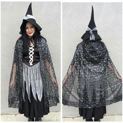 Silver + Black Witch