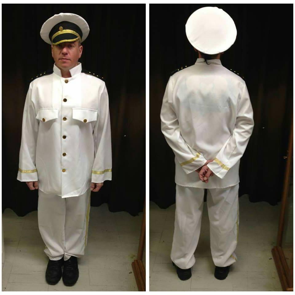 White Naval Captain