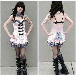 Pink Burlesque Girl
